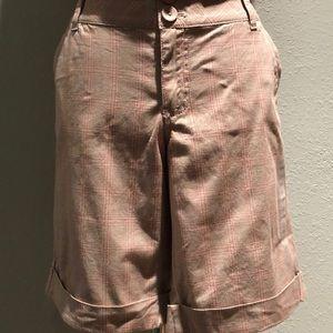 Dkny Shorts - Plaid Bermuda Shorts
